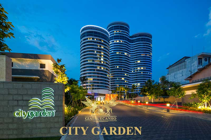 Bảng giá cho thuê căn hộ City Garden quận Bình Thạnh năm 2018