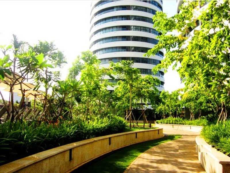 Nội khu căn hộ City Garden Bình Thạnh