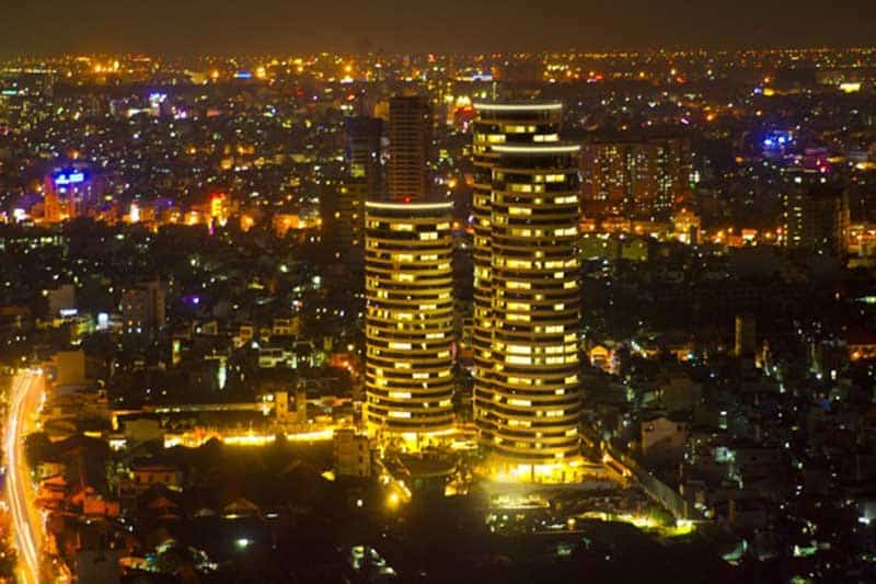 City Garden về đêm