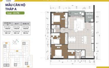 Cho thuê căn hộ Gold View 3 phòng ngủ giá chỉ từ $1250 bao phí