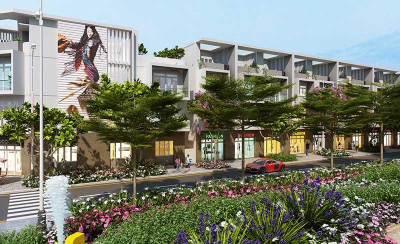 Nhà phố thương mại Vincity River Park