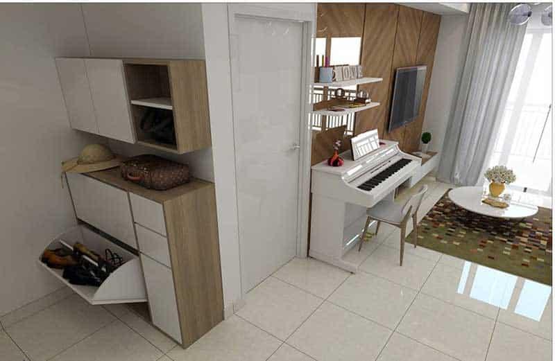 Thuê căn hộ Masteri Thảo Điền 2 phòng ngủ