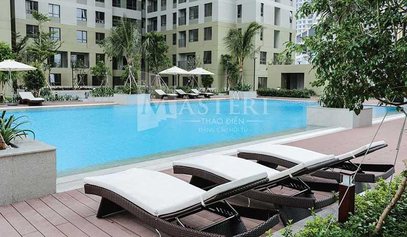 Hồ bơi Masteri Thảo Điền