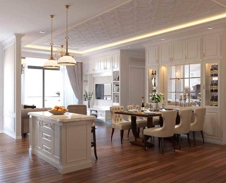Phòng khách Gold View