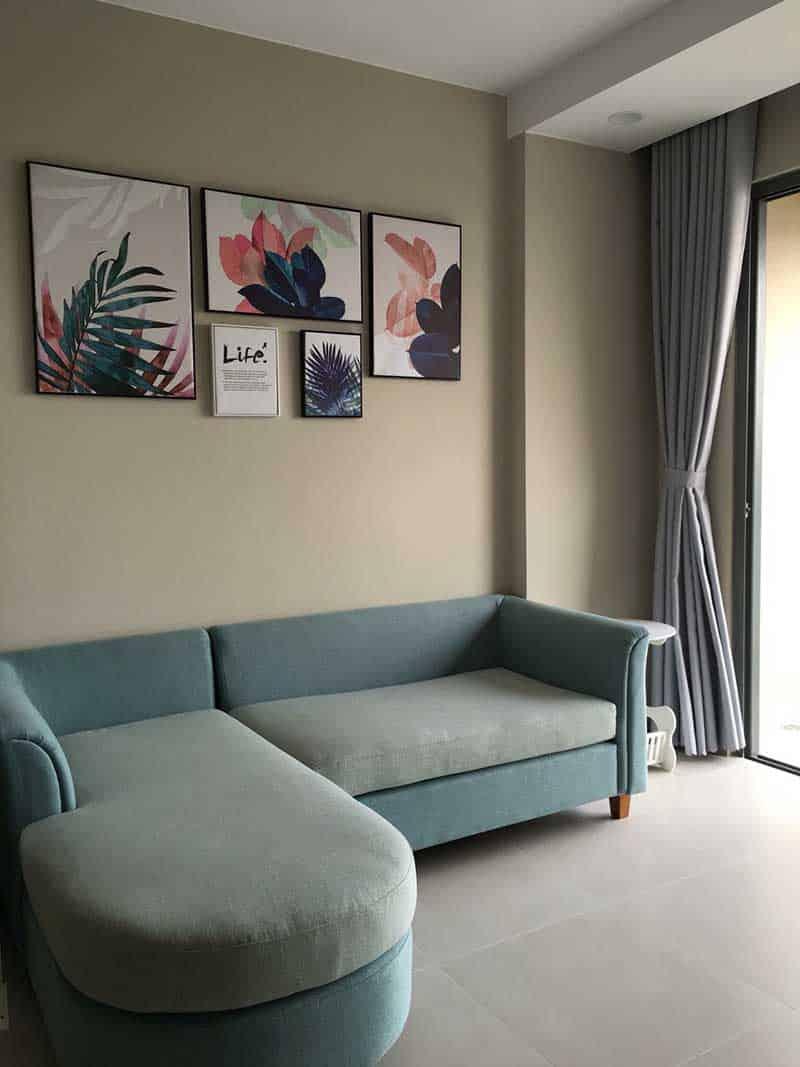 Phòng khách căn hộ Gold View