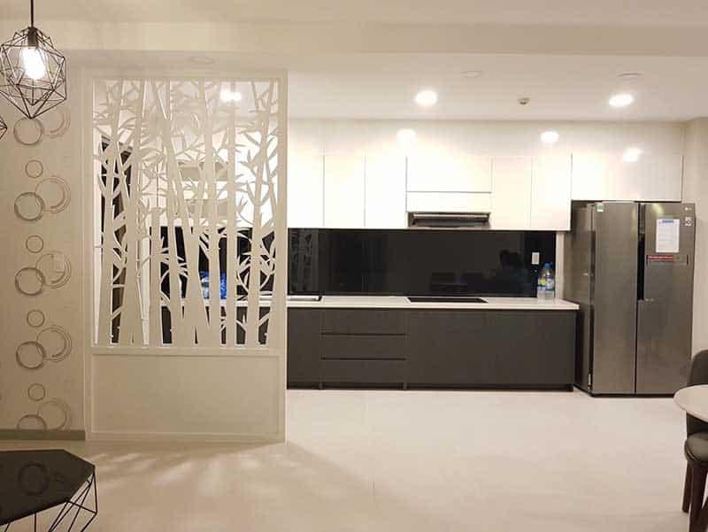 Bếp mở căn hộ Gold View