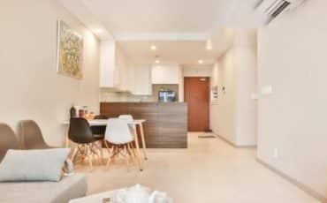 Cho thuê chung cư The Gold View 2 phòng ngủ Tphcm giá 18 triệu