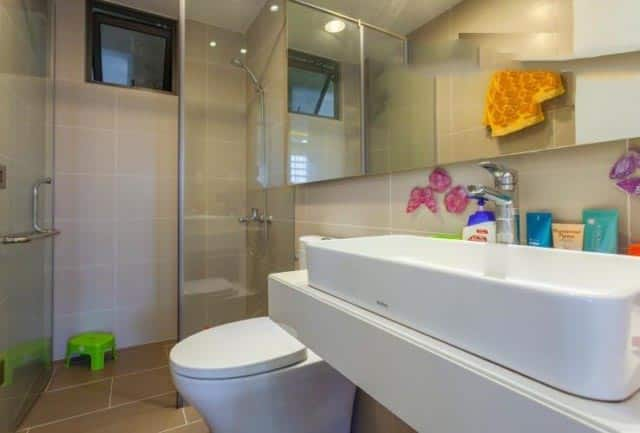 Toilet căn 3 phòng ngủ Millennium
