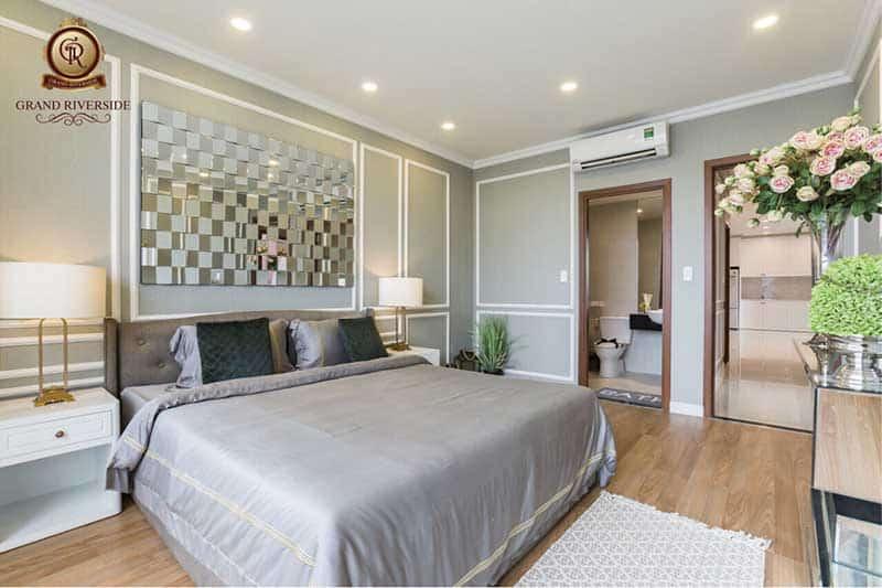 Phòng ngủ căn hộ Grand Riverside