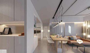 Phòng khách căn hộ Masteri quận 4