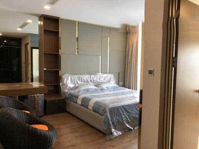 Phòng ngủ lớn Vinhomes