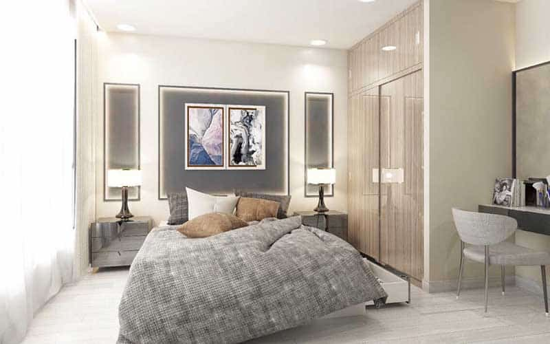 Phòng ngủ Vinhomes Ba Son