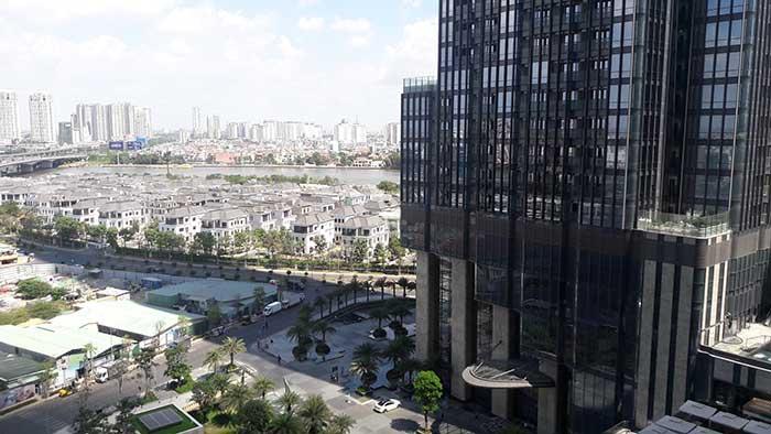 View nhìn về Landmark 81