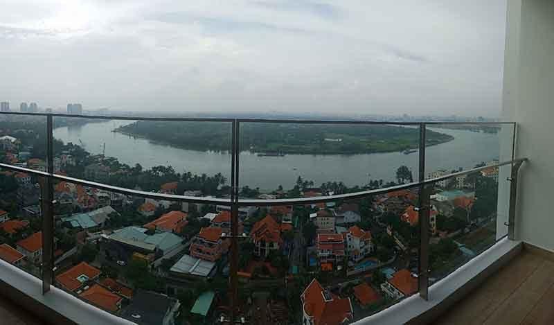 View tại căn hộ Nassim