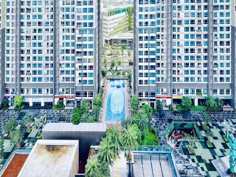View nhìn từ căn hộ Landmark 81