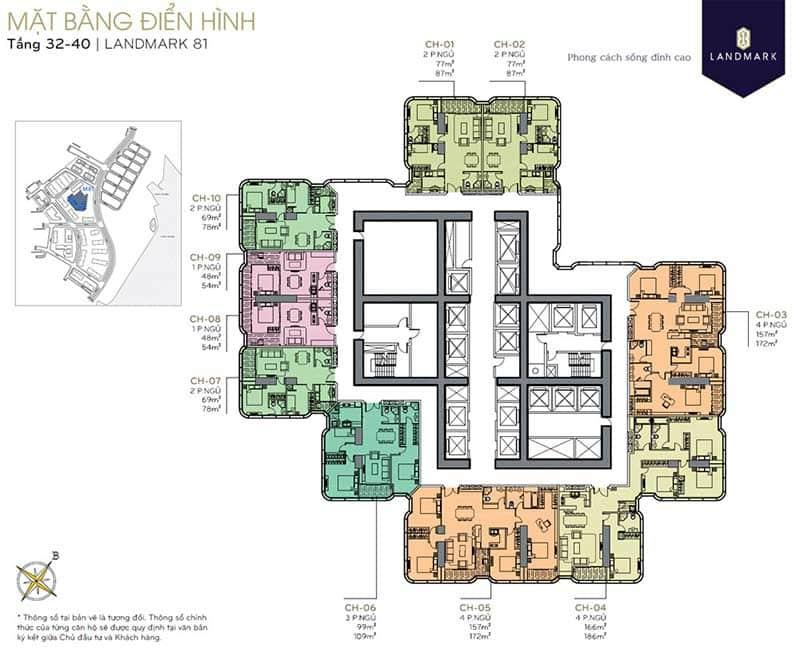 cho thuê chung cư landmark 81