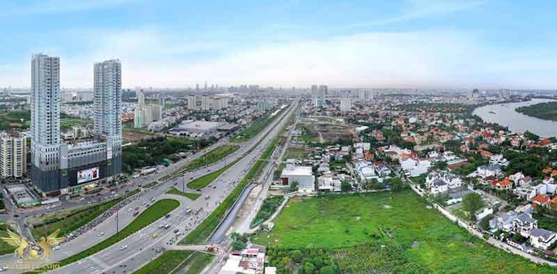 View nhìn từ Nassim Thảo Điền