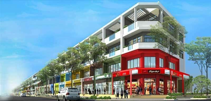 Shophouse - nhà phố thương mại tại Sala
