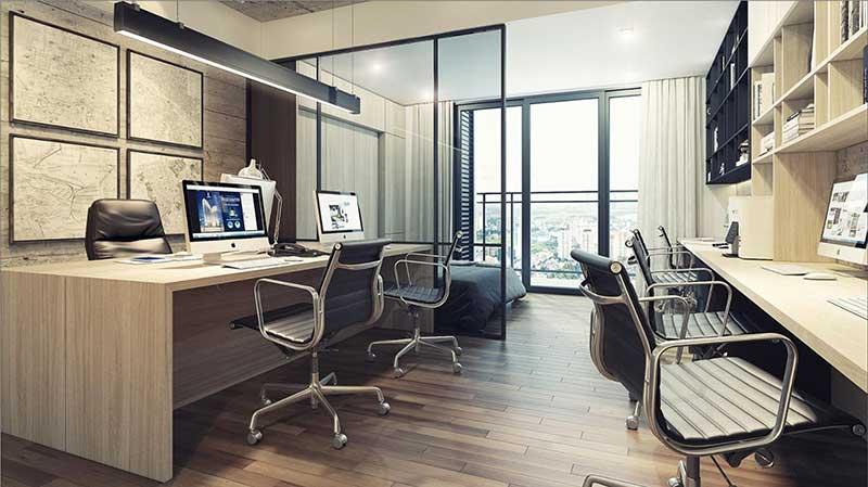Căn hộ Officetel mẫu Millennium