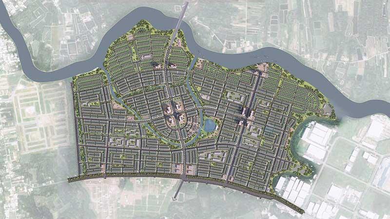 Bản đồ quy hoạch Millennia City