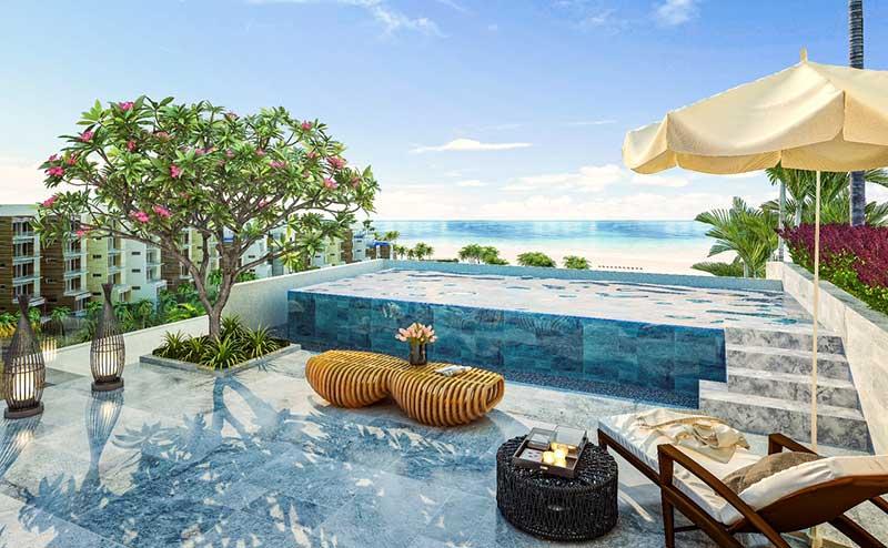 Hồ bơi nội khu resort Vinpearl Phú Quốc