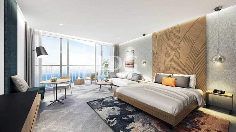 Phòng ngủ có view trực diện biển Condotel Vinpearl