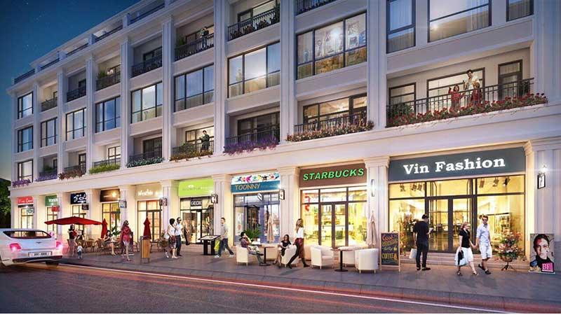 Dự án Shophouse Vinpearl