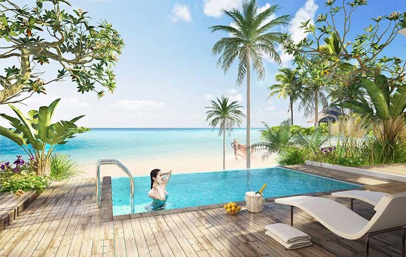 Hồ bơi nước mặn Vinpearl Phú Quốc