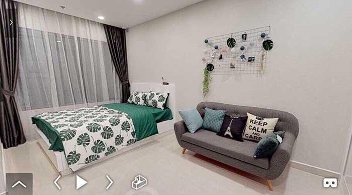 Phòng ngủ Master Vincity Grand Park