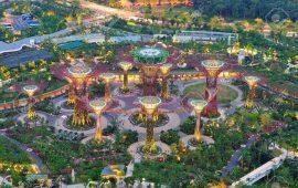 Công vien Singapore Vincity Grand Park
