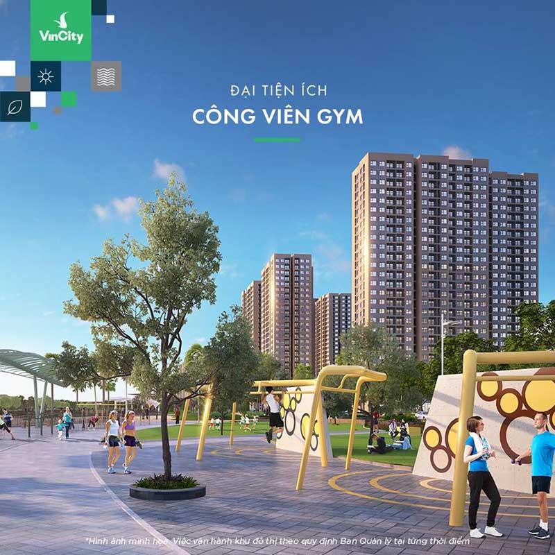 Công viên Gym Vincity Grand Park