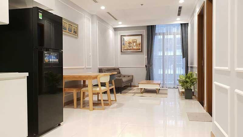 Phòng khách căn hộ Vinhomes Central Park Tân Cảng
