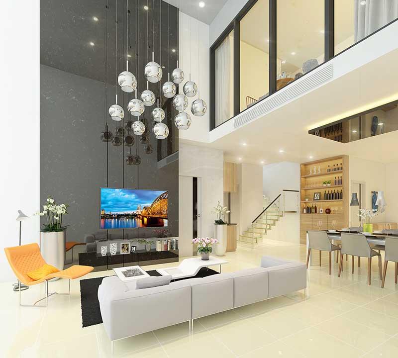 Một số mẫu căn hộ Duplex tại Hồ Chí Minh