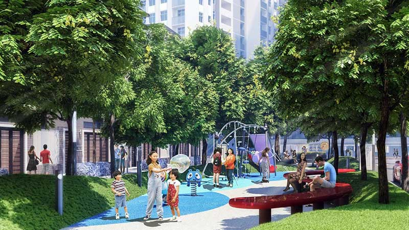 Công viên nội khu Hà Đô Centrosa