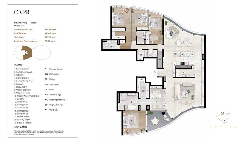 Măt bằng căn hộ City Garden