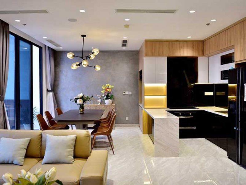 Nội thất Penthouse Vinhomes Golden River