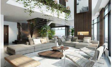 mẫu căn hộ Penthouse tại City Garden