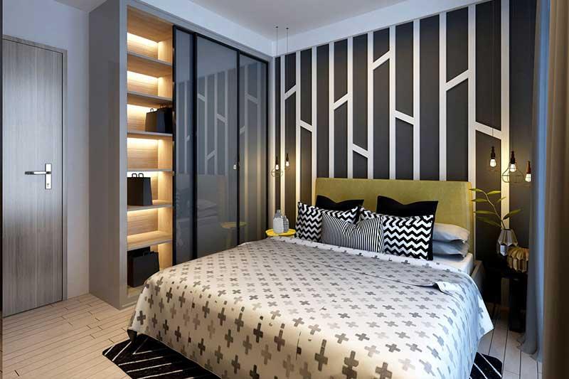 Căn hộ mẫu Sala 2 phòng ngủ