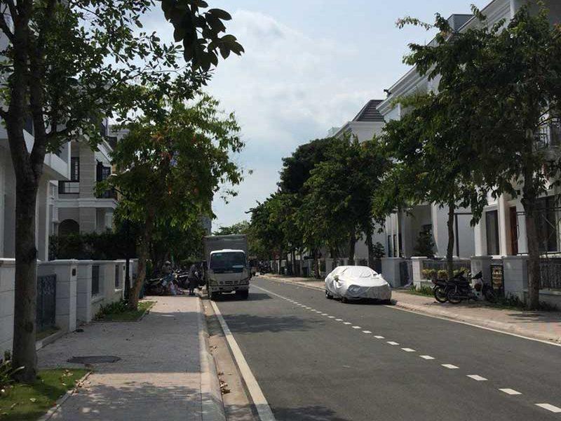 Đường nội khu biệt thự Vinhomes Tân Cảng
