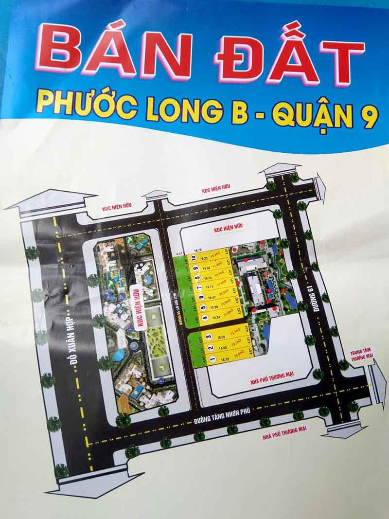 đất nền Tăng Nhơn Phú quận 9