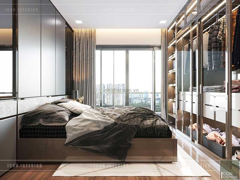 Phòng ngủ căn 1 phòng ngủ landmark 81