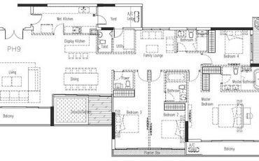 Cho thuê Penthouse Estella Height quận 2 giá tốt | Bảng giá 2019