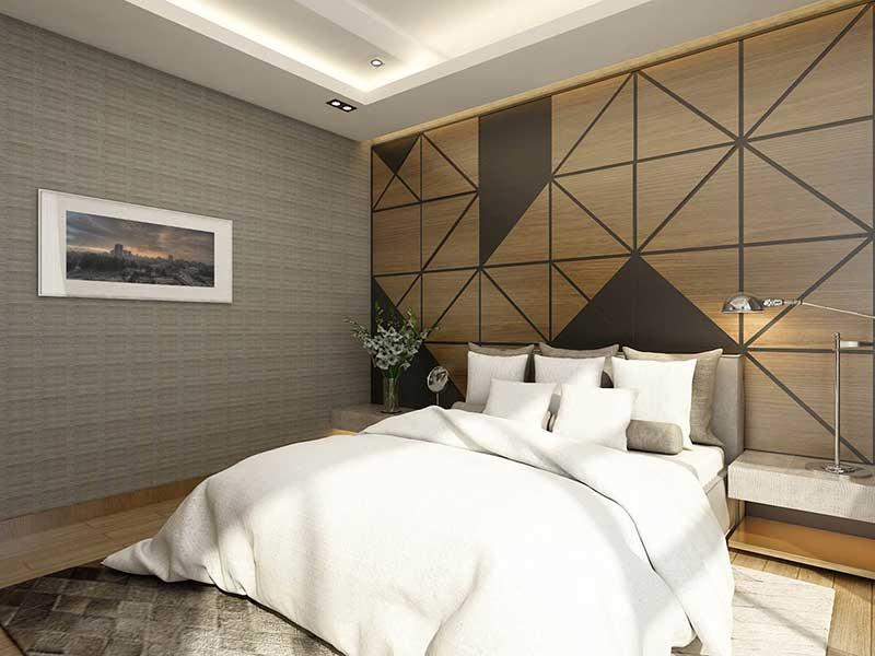 căn hộ mẫu Sunwah Pearl 3 phòng ngủ