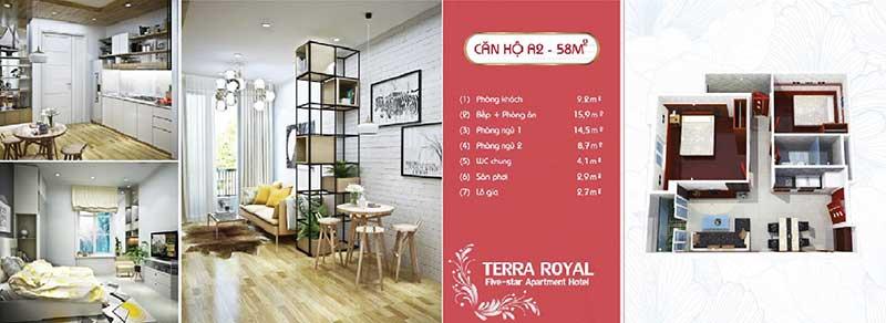 Terra Royal 1 phòng ngủ