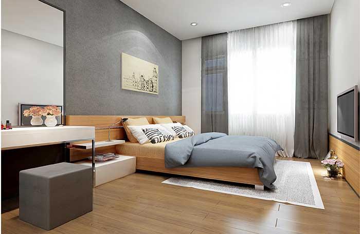 Căn hộ mẫu 3 phòng ngủ The Sun Avenue