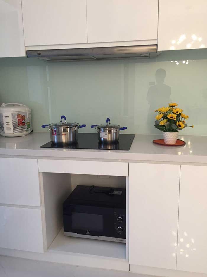 Phòng bếp căn hộ Vinhomes Tân Cảng