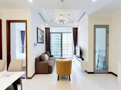 Phòng khách căn hộ 1 phòng ngủ Landmark 3