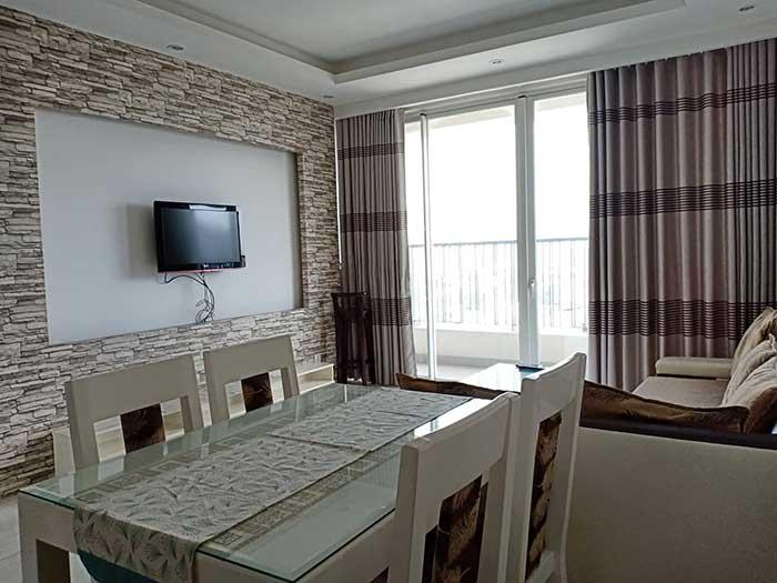 Phòng khách Thảo Điền Pearl 1 phòng ngủ