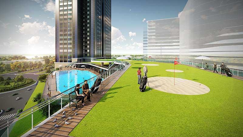 Tiện ích nội khu Eco Green Saigon