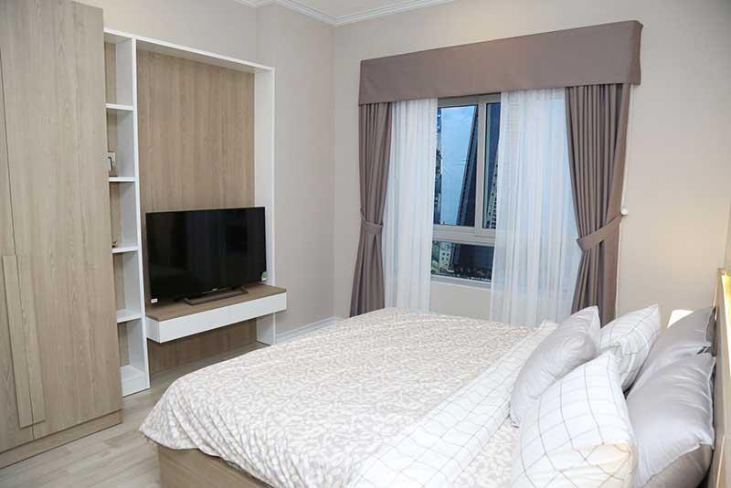 Phòng ngủ căn hộ Homyland 3